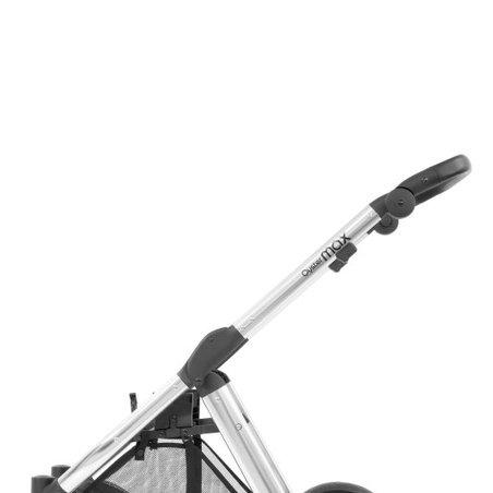Wózek spacerowy Oyster Max - stelaż - lustrzany srebrny