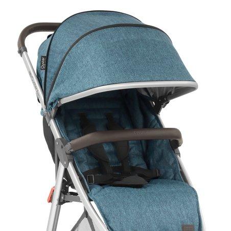 Wózek 2w1 Oyster Zero - niebieski Regatta + gondola Caviar -20%