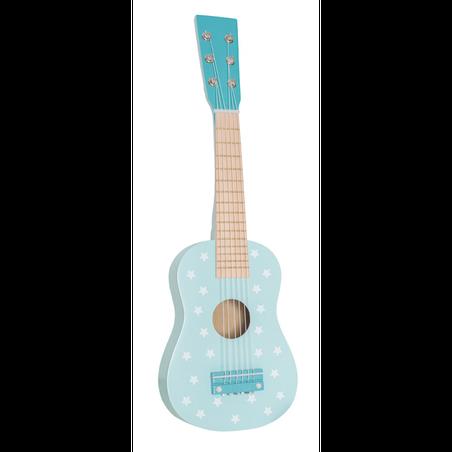 Drewniana gitara pastelowy niebieski Jabadabado JaBaDaBaDo