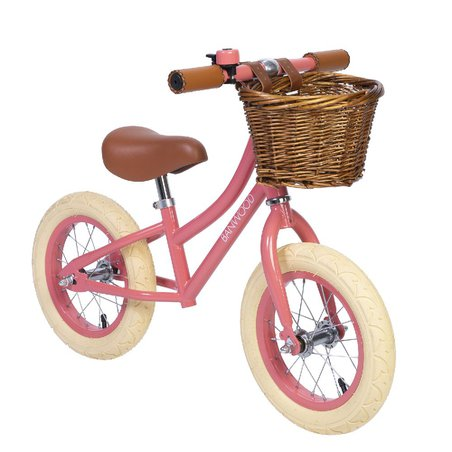Banwood FIRST GO! rowerek biegowy coral BANWOOD