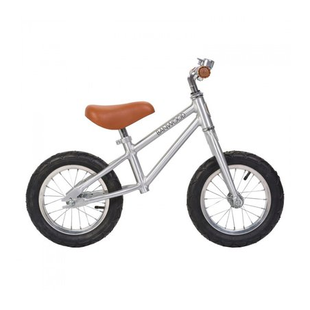 Banwood FIRST GO! rowerek biegowy chrome BANWOOD