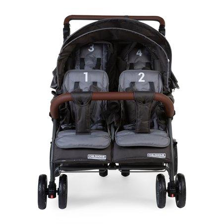 Childhome Wózek czteroosobowy Quadruple NEW Autobrake CHILDHOME